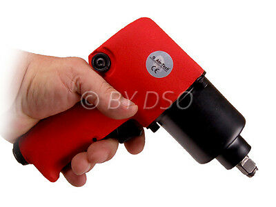 AM-TECH PROFESSIONAL 1/2 INCH DRIVE AIR IMPACT GUN WRENCH With Twin Hammer