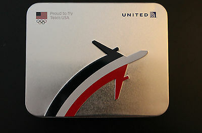 United Airlines US Olympic Team FC travel amenities kit collectible Rio unopened