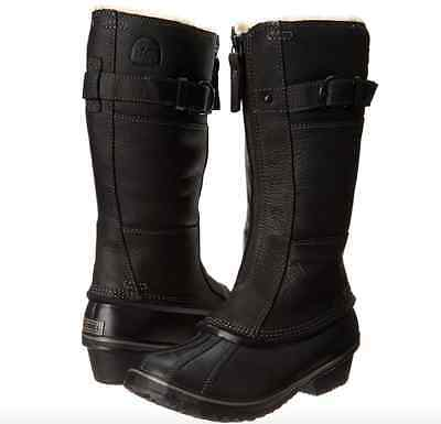 Sorel Winter Fancy Tall II Waterproof Insulated Leather Boots Snow Shoes