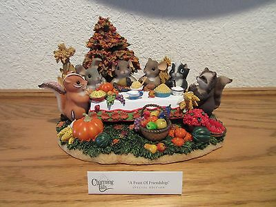 A Feast of Friendship Charming Tail Special Edition Figurine