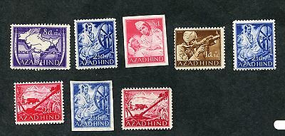 Stamp Lot Of Azad Hind