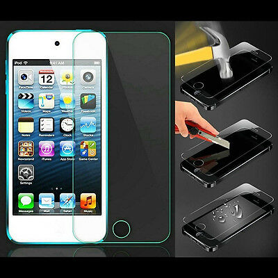 1X Tempered Glass Screen Film Protector For iPod Touch 5 5G 5th Generation mw