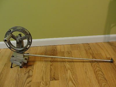 Big Jon All Aluminum Downrigger w/Line Counter Wire Base -needs end pulley