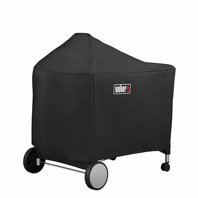 NEW Weber 7152 Grill Cover with Storage black Bag for Performer Premium & Deluxe