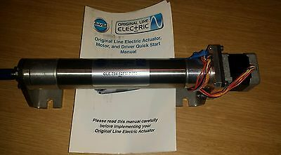Bimba OLE 754 12FM P1 T2 linear actuator cylinder stepper motor applied motion