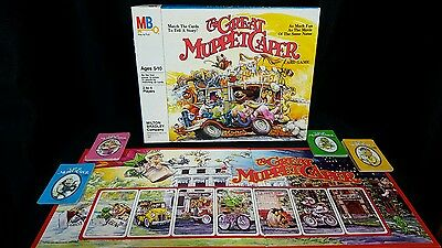 Vintage The Great Muppet Caper Card Game, Board Game, Complete