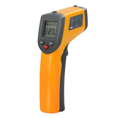 Laser Infrarot Thermometer Pyrometer LCD Infrarotthermometer Pistole Thermometer
