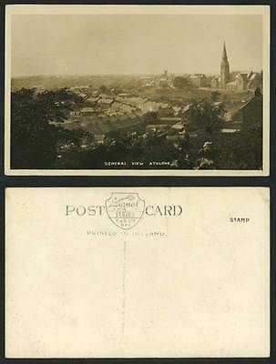 Ireland Co. Westmeath ATHLONE General View Panorama Old Real Photo Postcard