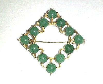 Vintage 14K Yellow Gold Brooch Pin  - 8.6 Grams 14K Gold!  Priced To Sell!