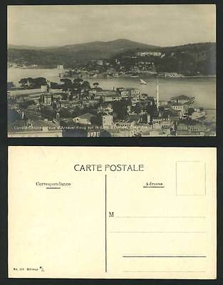 Constantinople Old Postcard Arnaout Keuy Cote, Bosphore
