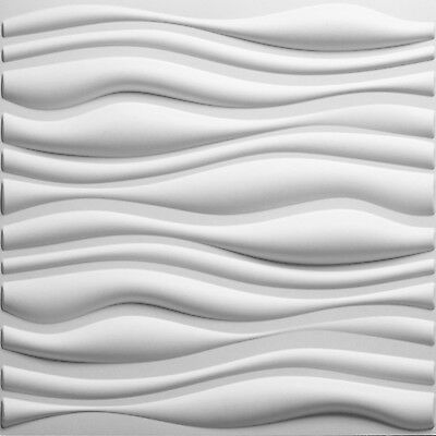 32 sq.ft. 3D Glue-On Wall/Ceiling/Wainscoting Panels - Branches