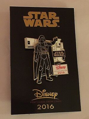 Disney pin Star Wars Darth Vader 2016 CHASE Exclusive Limited NEW