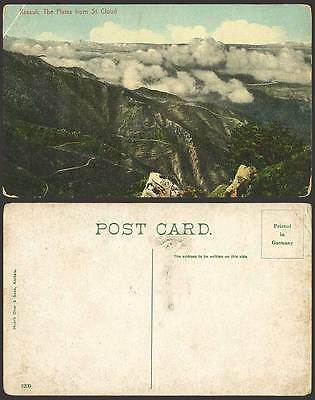 India Old Postcard - The Kasauli Plains from St. Cloud