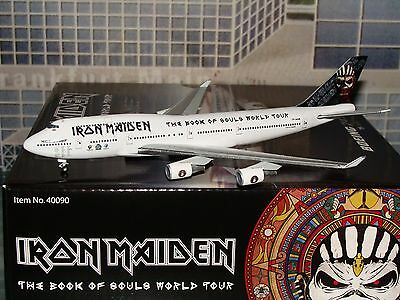 Hogan Wings 400 Iron Maiden B747 -400 TF-AAK ED Force One 1/400 **Free S&H**