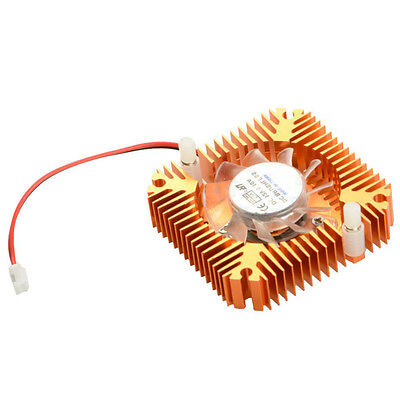 Top Aluminum Cooling Fan Heatsink Cooler Fit For PC Computer VGA Video Card GT
