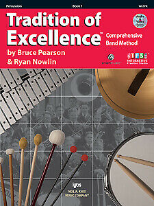 Tradition of Excellence  Book 1 - Percussion -  W61PR - Bruce Pearson