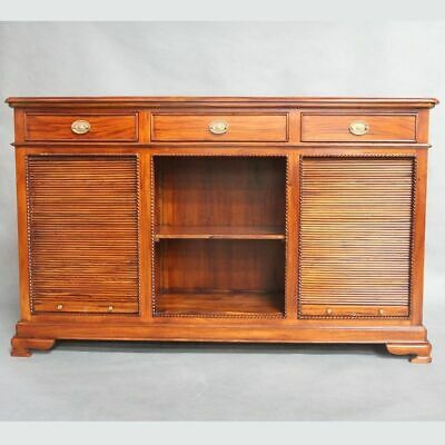 Antique Style Solid Mahogany Timber Side Board 3 Drawers Buffet