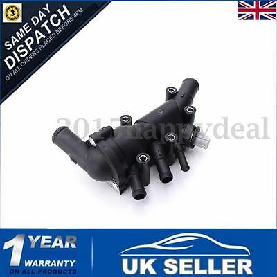 Thermostat With Housing Temperature Sensor Gaskets For FORD KA RB 1218087 1.3i