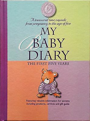 My Baby Diary: The First Five Years- Forbes Publishing & Marketing