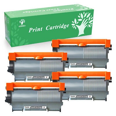 4PK Toner Compatible For Brother TN-450 420 HL-2220 2240 2270DW 2280DW MFC-7360N