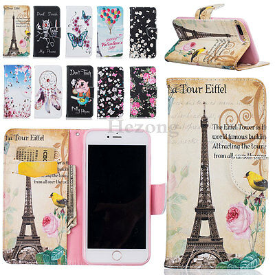 Luxury Wallet Card Holder PU Leather Flip Case Cover Stand For iPhone 6s 7 Plus