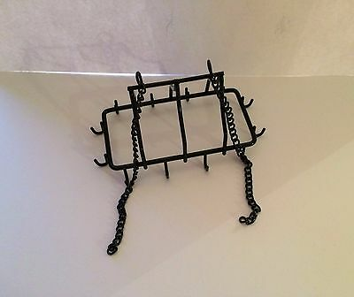 Dolls House Pot and Pan Hanger 1:12 Scale