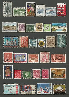 WORLD STAMPS - mixed collection, Lot No.81, all different