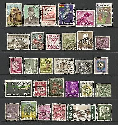 WORLD STAMPS - mixed collection, Lot No.53, all different