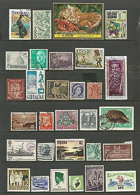 WORLD STAMPS - mixed collection, Lot No.61, all different