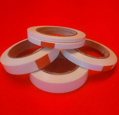 2 rolls double sided high tack craft tape 9, 12, 19, 25 and 50 mm x 33 m