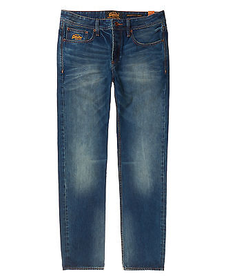 Neue Herren Superdry Copperfill Loose Jean Rugged Used