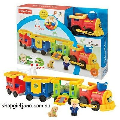 Fisher Price - Little People - Load & Go Train Play Set