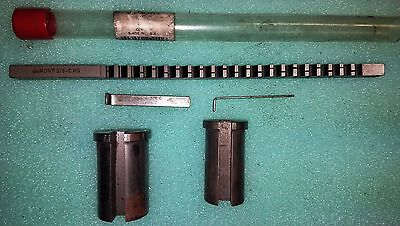 "DUMONT  3/8""-C   Keyway Broach  12"" Overall With 2 Shim & 2 Bushings"