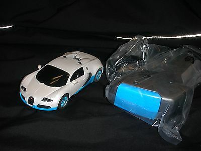 Scalextric Digital Bugatti Veyron With Digital Controller Unused Unboxed White