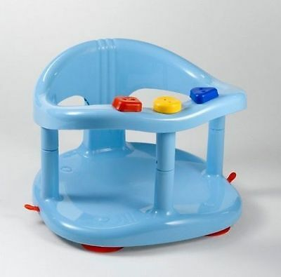 infant baby bath tub ring chair keter -Light Blue- Anti Slip - SHIPPING FROM USA