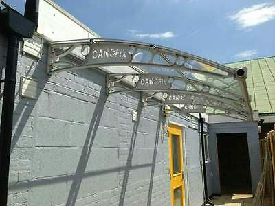 Polycarbonate Canofix Canopy 1500x 2500mm/ Garden Canopy/ Shelter/ Smoking area