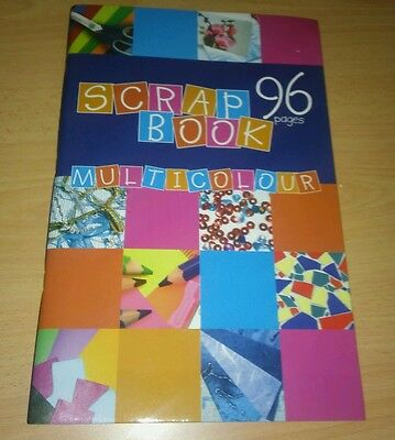 Scrapbook Jumbo Extra Large Scrap Book Cutting Craft Album 96 Pages - Twin Pack
