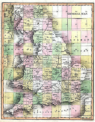 MAKE REPRO 18thc ENGLAND MAPS - High Res Images DVD-Rom