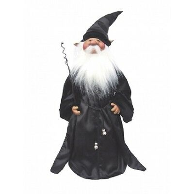 Witches of Pendle - Elwin The Wizard (Black) 50cm