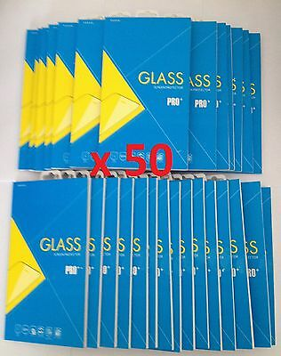 Joblot of 50 pcs - Tempered Glass Screen Protector for Samsung Galaxy S7 *NEW*