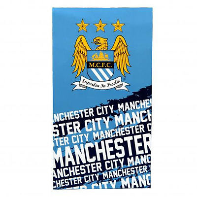 Manchester City FC Beach Bath Towel (Impact)