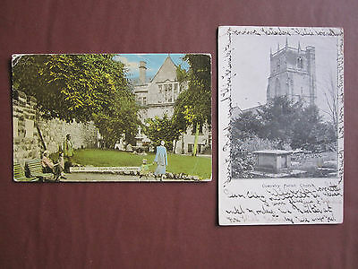 Oswestry - 2 post cards - see pictures