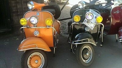 vespa's classic 1960's scooters