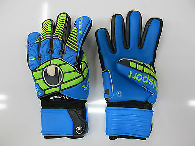 UHLSPORT guanti portiere mod.ELIMINATOR ABSOLUTGRIP HN col.AZZ/VERDE luglio 2016