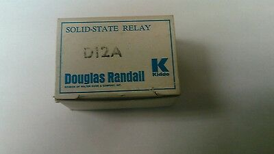 Douglas Randall D12A Solid State Relay 120Vac 12A