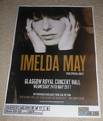 Imelda May CONCERT POSTER - may 2017 live music show concert gig tour poster