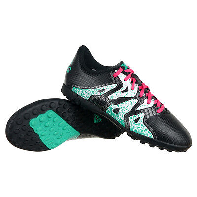 7ff172a9bf Kids soccer shoes Adidas X 15.4 TF Junior Football Astro Soles Turfs  Trainers