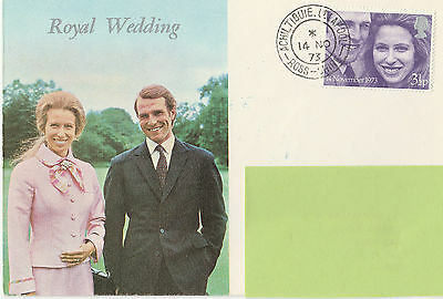 First day of issue Summer Isles stamps - Royal Wedding 14 Nov 73