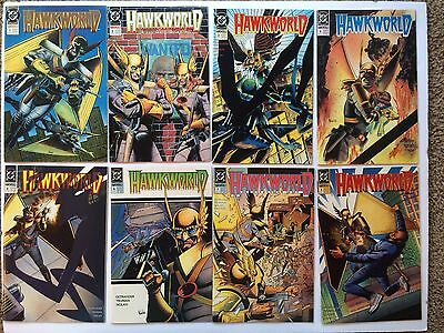 Hawkworld DC Comic Book lot  # 1,2,3,4,5,6,7,8,9,10,11,12,13,14