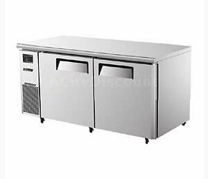 "Turbo Air 60"" Side Mount Undercounter Refrigerator with 2 Swing Doors JUR-60"
